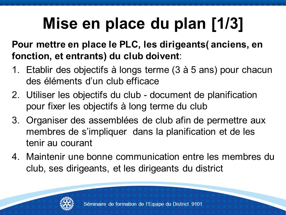 Mise en place du plan [1/3]